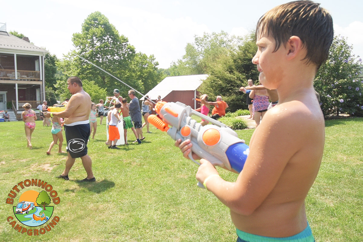 Christmas In July Camping Ideas.Buttonwood Campground Family Camping In The Juniata River