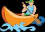 Canoe guy comic style