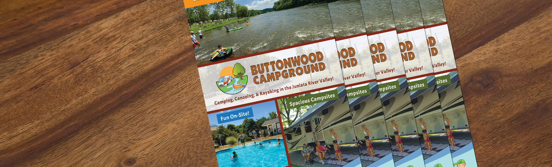 Brochure Tent RV and Cabin Camping