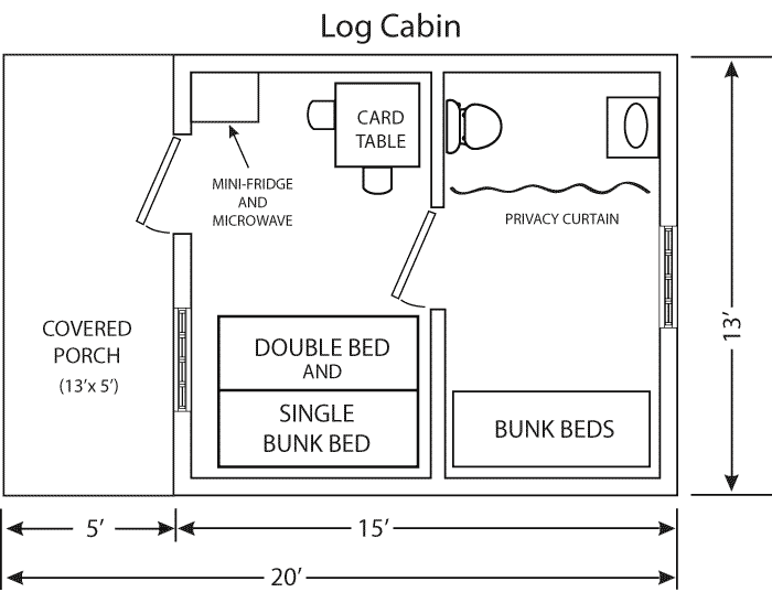 Log Cabins #1