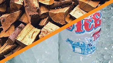 Firewood & Ice Image
